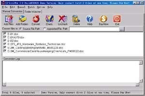 CZ-Doc2Htm COM screenshot