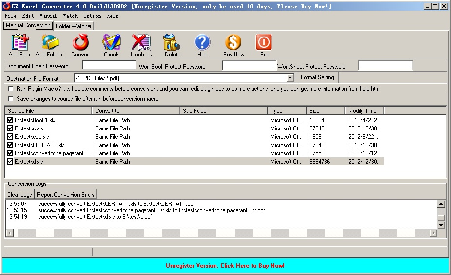 convert excel to pdf download