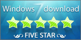 the 5 star award image of cz excel converter from windows7download.com